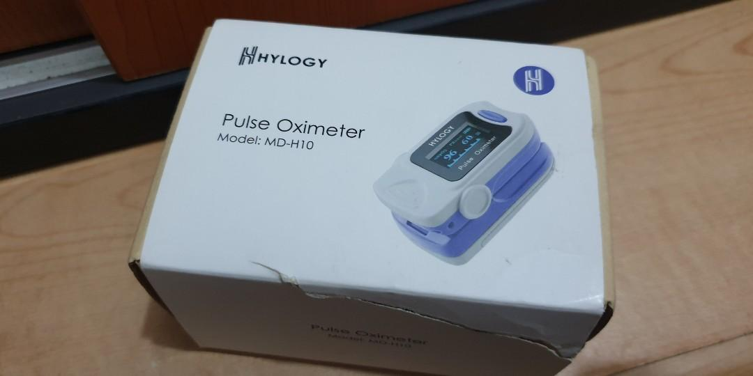 New HYLOGY Pulse Oximeter MD-H32 Professional Portable