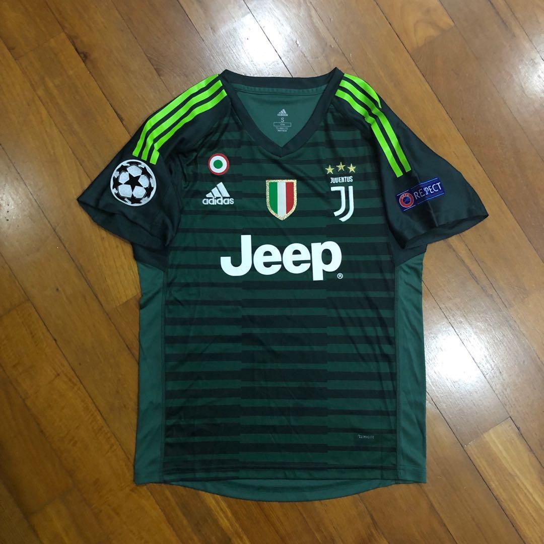 reputable site cf459 082eb Juventus 2018/2019 Season Goalkeeper Jersey, Sports, Sports ...