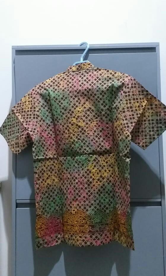 Kemeja batik tobal pekalongan koko