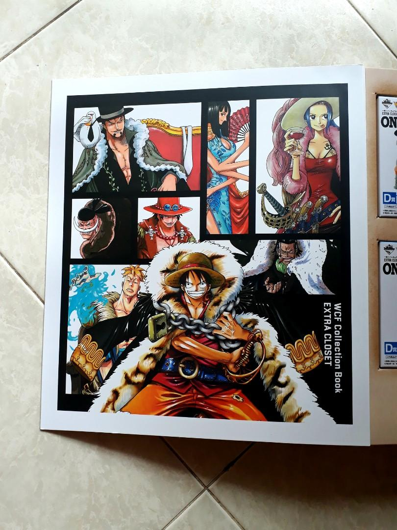Kuji -One Piece - EXTRA CLOSET -Re : Members Logs - WCF Collection Book / Last Prize