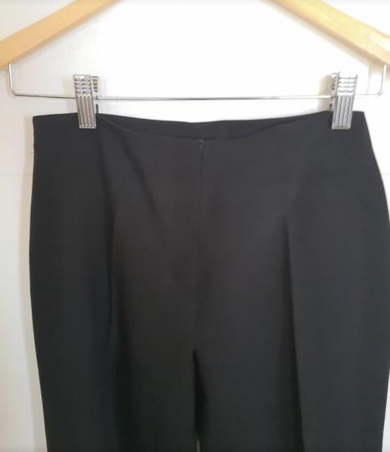 fd7d12726 Mango Black Slacks / Pants on Carousell