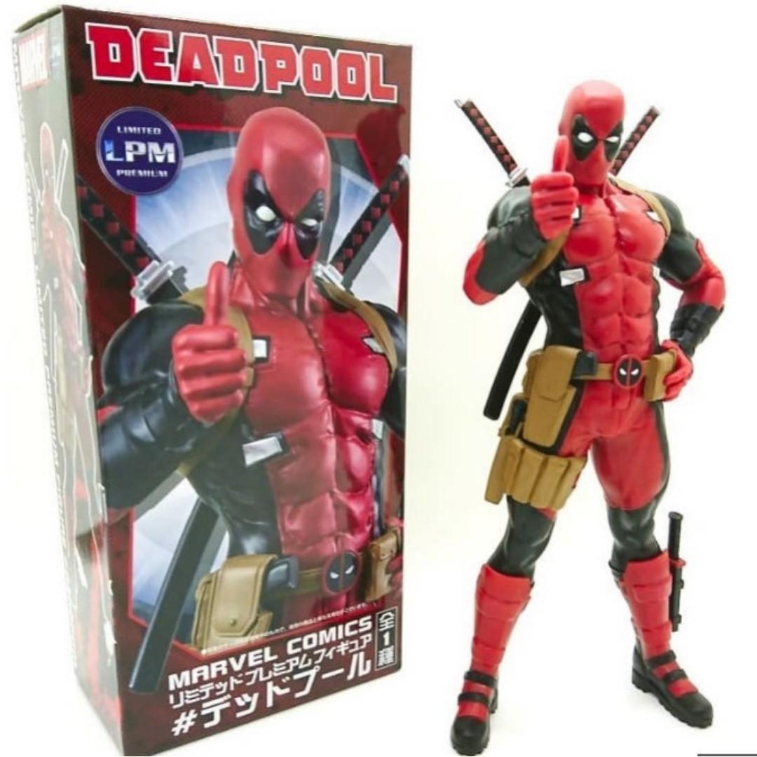 MARVEL COMICS limited premium figure Deadpool SEGA Japan