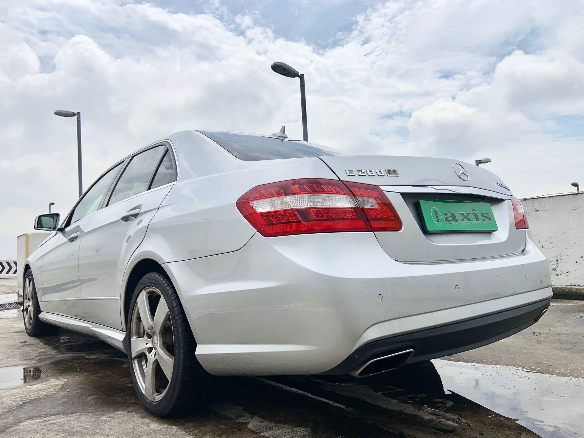 Mercedes-Benz E200 CGI BlueEfficiency Elegance Auto