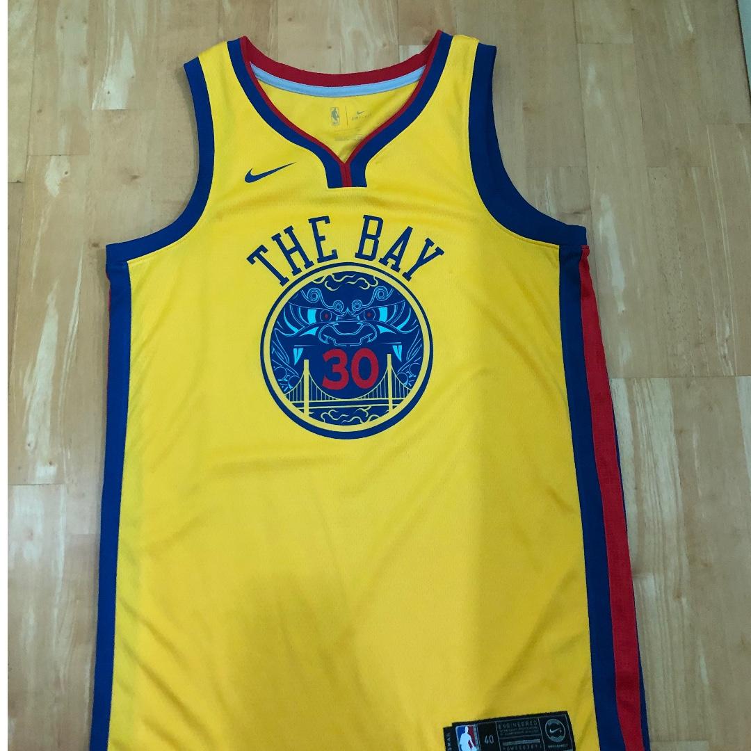 huge selection of 2c26d 1257d NBA Golden State Warriors The Bay Swingman Stephen Curry Jersey