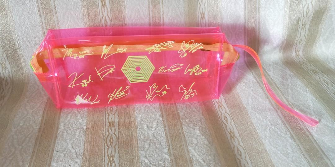 New EXO Neon Pencil Case / Pouch