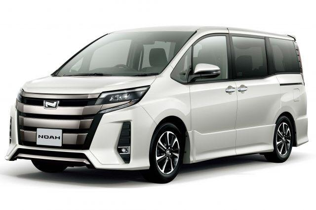 RENT: Toyota Noah MPV Hybrid New Car For Rent