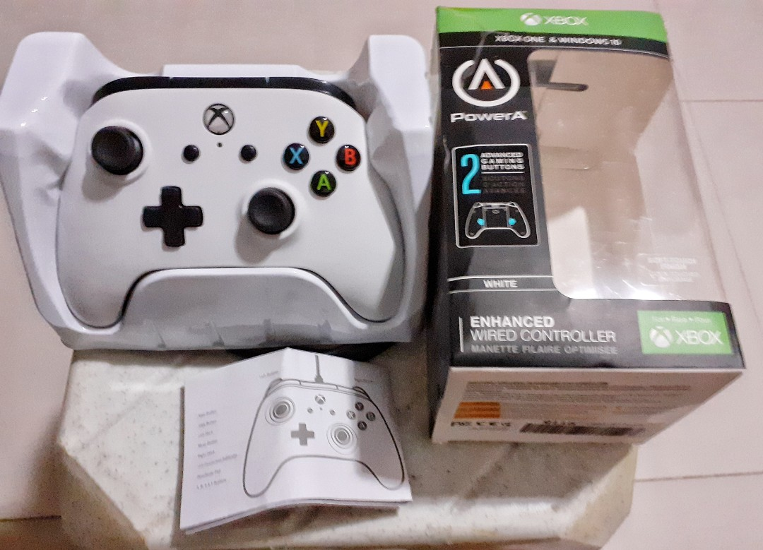 PowerA xbox one enhanced wired controller