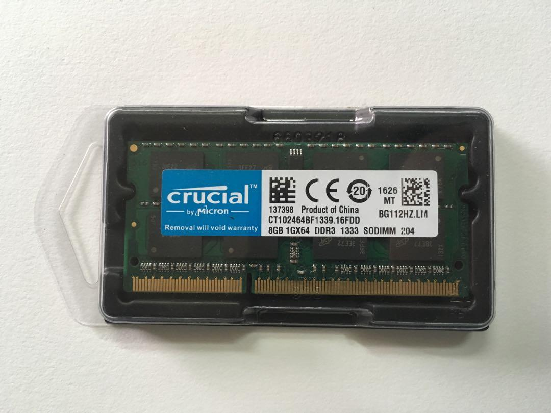 8GB Module 1X8GB DDR3-1333 204PIN SODIMM Memory for Apple MAC Mini iMac NEW