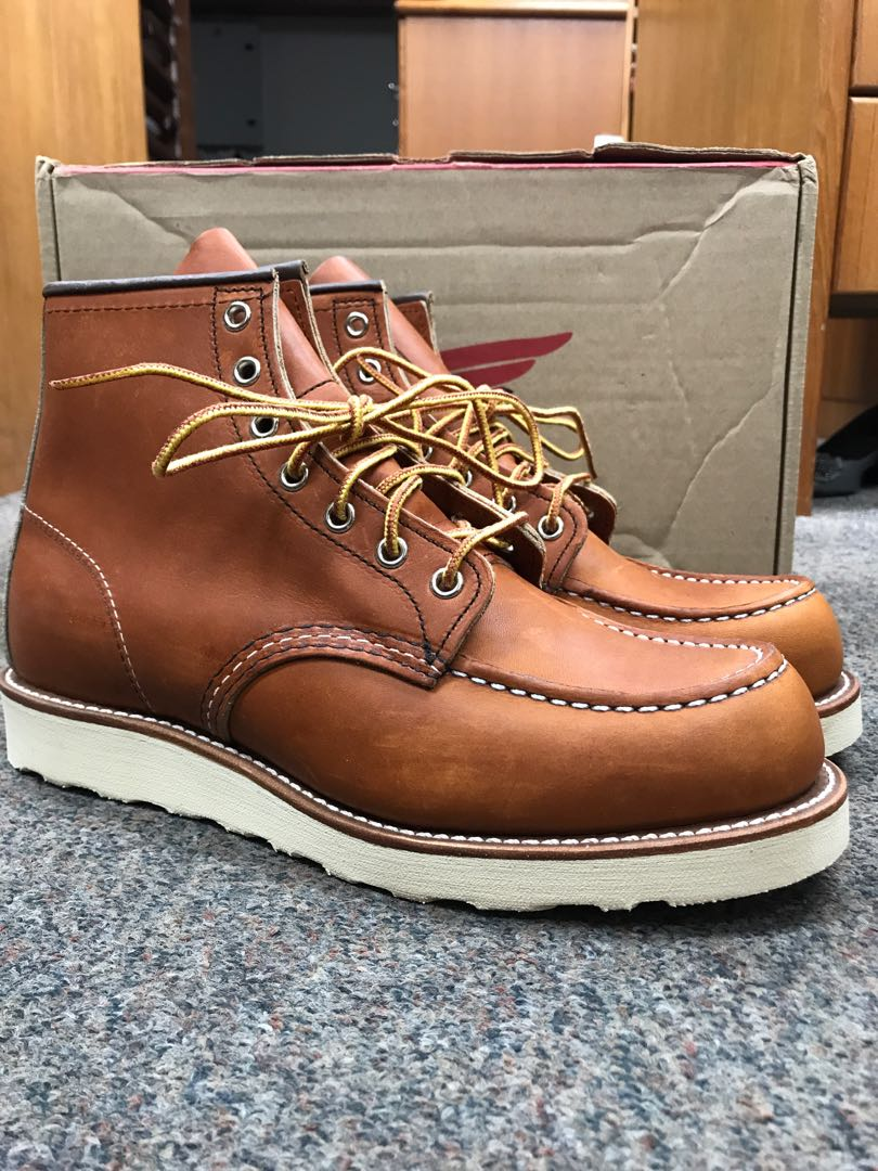 8e5a8fac331 Red Wing Heritage Boots MOC Signature 875 US8.5D Oro Legacy