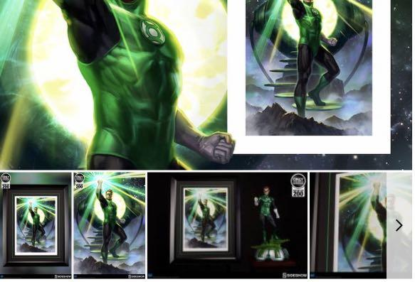 Justice League Unlimited Green Lantern loose mint complete