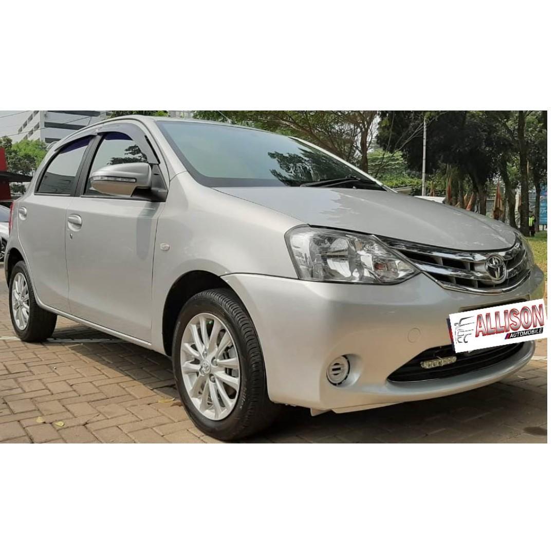 Toyota Etios E Valco Manual 2014 Silver Dp 15,9 Jt No Pol Ganjil