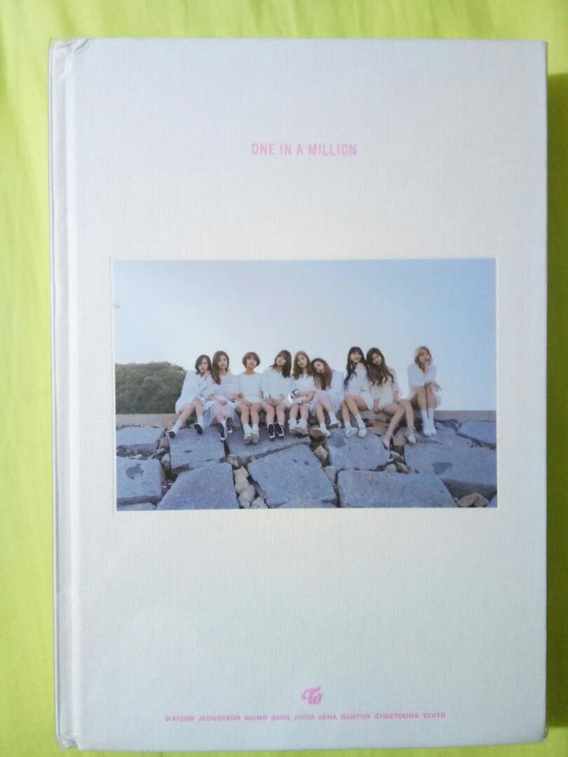 Twice 1st Photobook One In A Million On Carousell