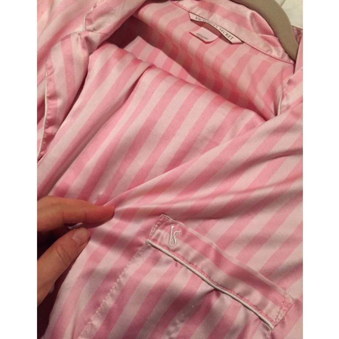 * TOP ONLY *Victoria's Secret The Afterhours Satin Pajama TOP size small