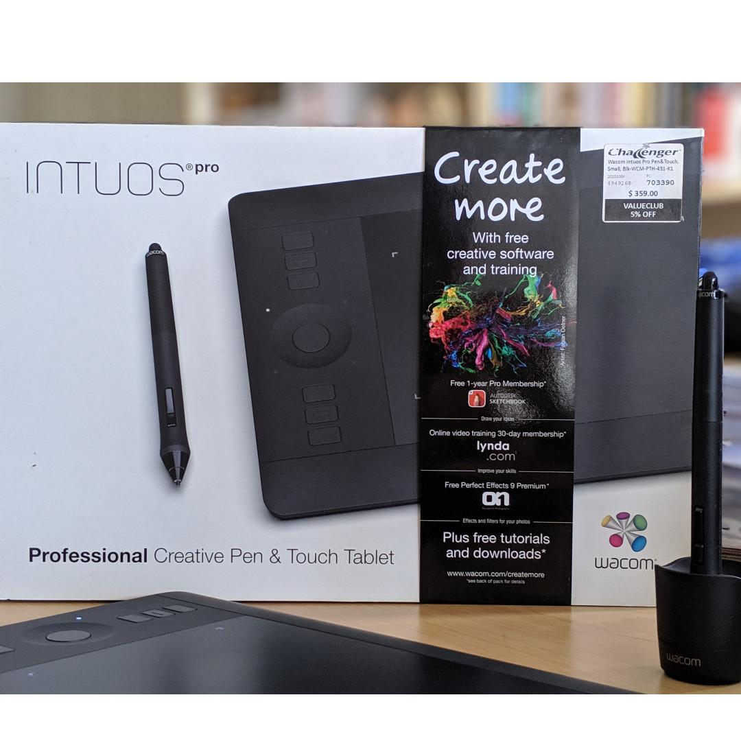 Wacom Intuos Pro Small PTH-451, Electronics, Others on Carousell