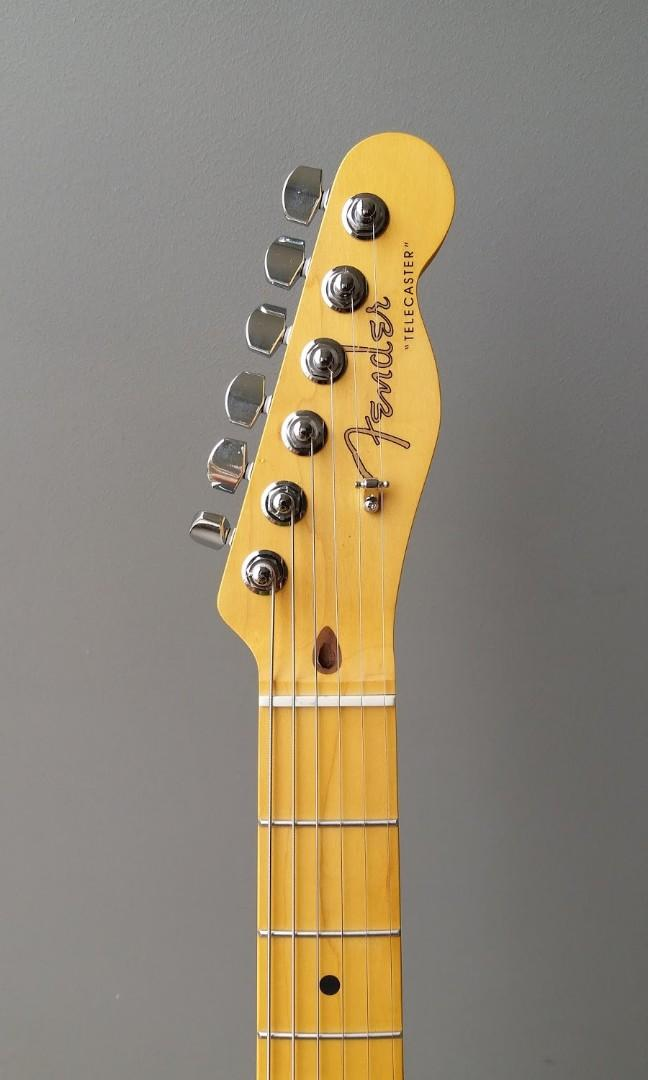 Thinline Telecaster Warmoth with Fender Vintage Noiseless