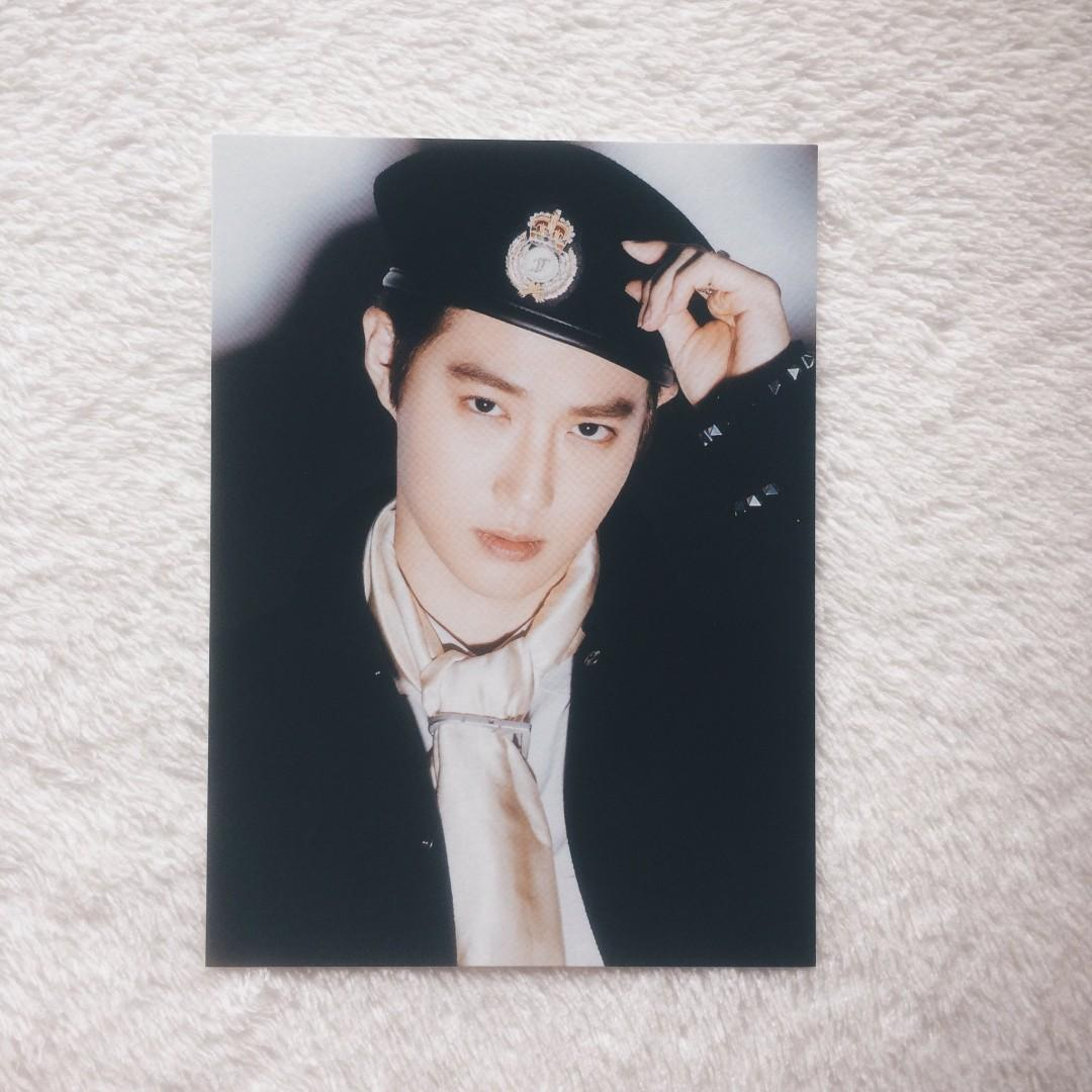 [WTS] EXO Suho Postcard; don't mess up my tempo moderato ver