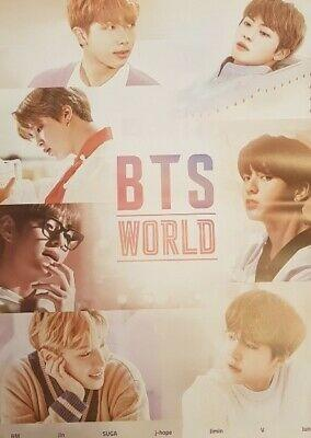 WTS Sealed BTS World OST album + poster