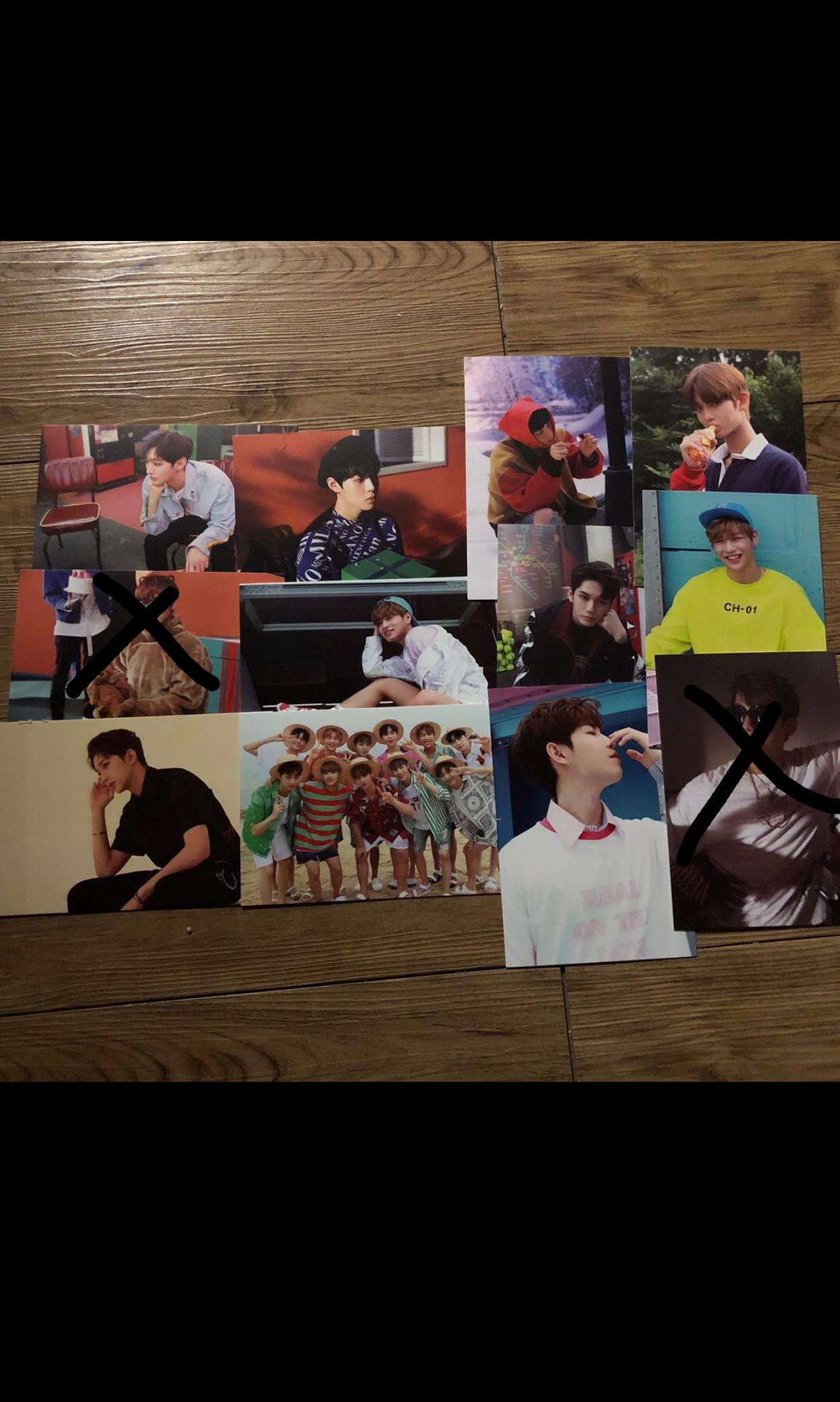 WTS WANNA ONE Therefore Postcard