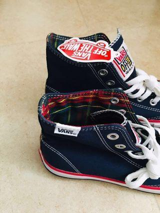 🍄Vans sneakers 英倫格 Scottish tartan edition