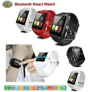 U8 Smartwatch - Jam Pintar - Black - Hitam