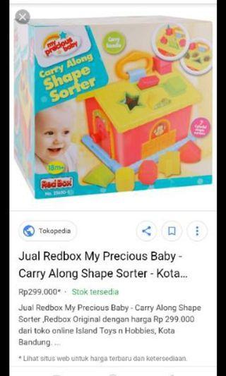 Shap sorter redbox