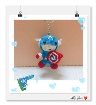 Captain America 🇺🇸 Keychain