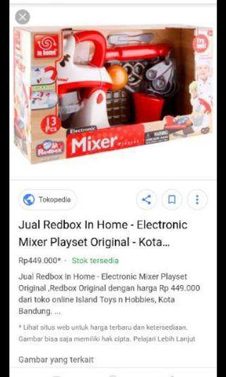 Mainan anak set.mixer