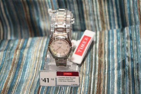 Timex Watch for women Genuine Mother of Pearl