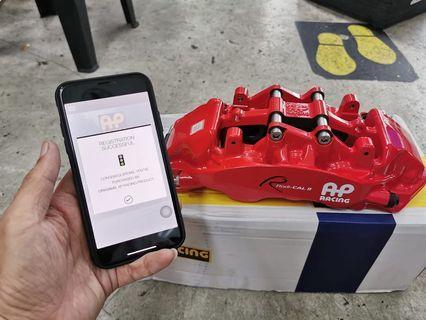 AP Racing Radi-CAL 2 6 pot