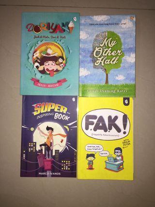 Buku DORIYAKI, FAK, SUPERBOOK, MY OTHER HALF
