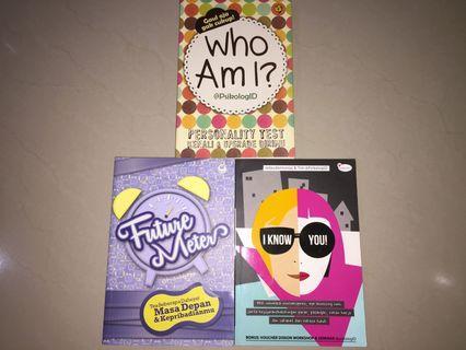 Buku Who am I, Future Meter, I Know You