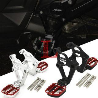 Honda X-ADV XADV 750 XADV750 ADV750 aluminum rear pedal pillion foot pegs bracket rear pedal assembly silver red black