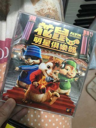 花鼠明星俱樂部DVD