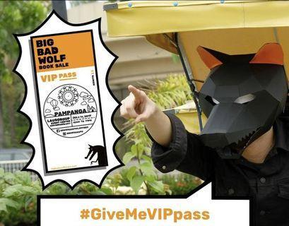 Bid Bag Wolf Pampanga VIP Pass