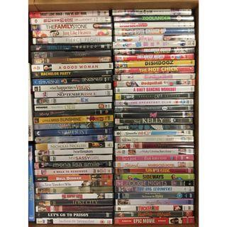 DVD: comedy and drama selection >80