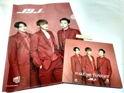 JYJ Wake Me Tonight Japanese single album