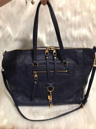 🚚 [FINAL 1580$]Louis Vuitton Lumineuse PM Blue Empriente Bag