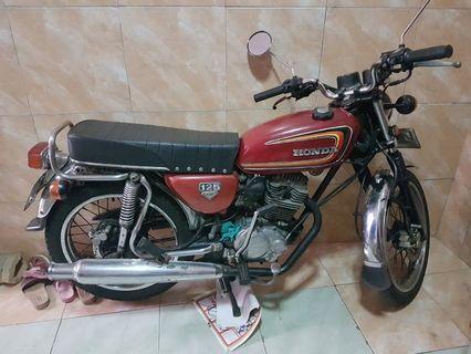 Honda CB 125cc tahun 92-nyari majikan baru