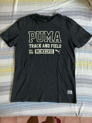Puma 短袖 深灰 棉T