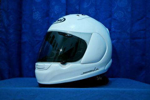 Helm arai profile glass white not shoei agv nolan xlite kbc kyt nhk kbc ls2 airoh xlite