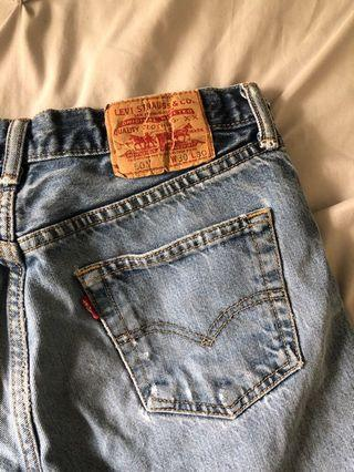 Vintage Denim Levi's shorts
