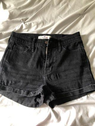 Black Hollister Shorts