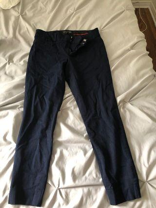 Navy Banana Republic Trousers