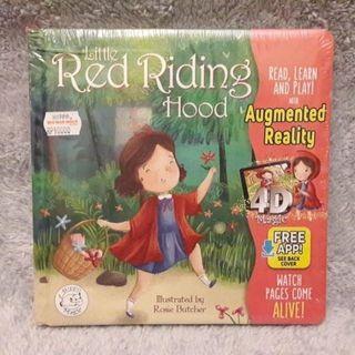 "Ready Stock Augmented Realty Book Buku Ajaib Little Hippo ""RED RIDING HOOD"" / Buku BBW"