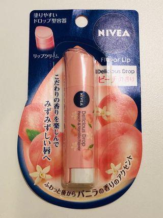 NIVEA Lipbalm | Peach 🍑