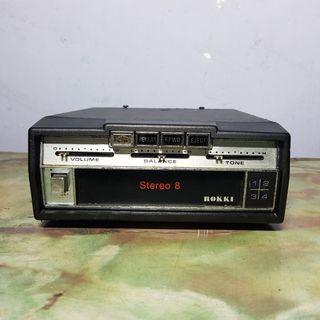 ROKKI Car Stereo 8 Track Player (SV-471) >read description<