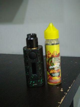 Vape Tesla wye , liquid, mod , Battery RTA RDA