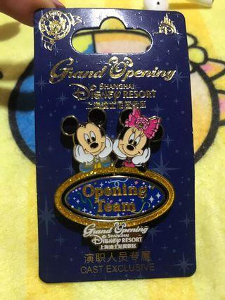 迪士尼襟章Disney pin香港迪士尼樂園徽章交換徽章