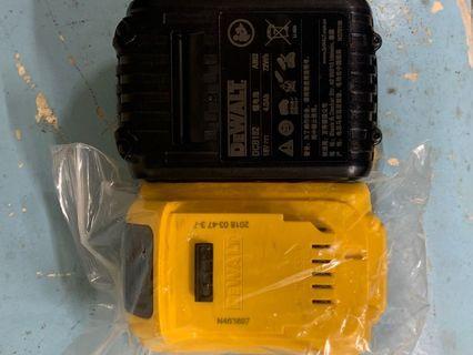 得偉18V. DCB182 容量4.0ah鋰電池