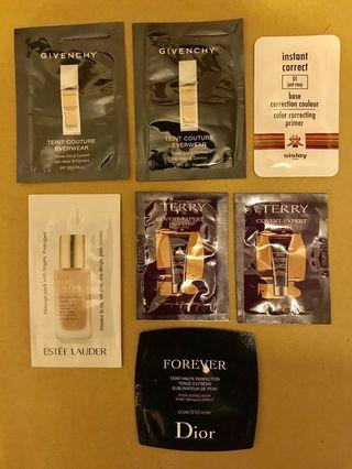 Givenchy/Estee Lauder/Sisley/Dior/By Terry - Foundation 粉底液